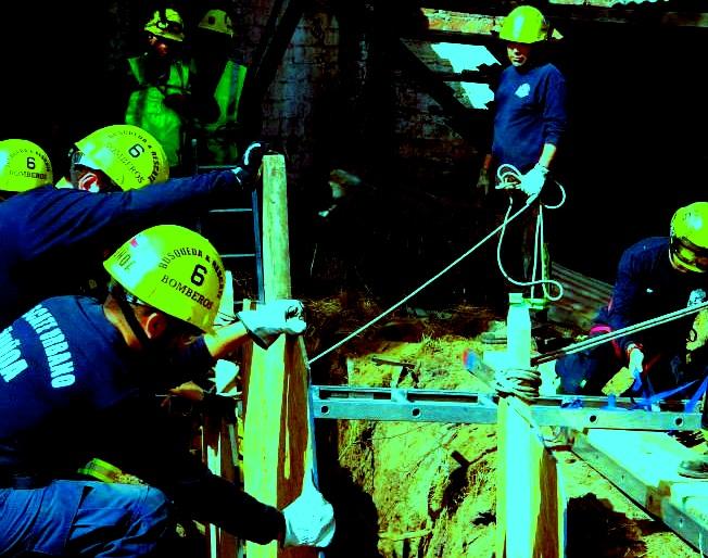 Trench Rescue, Rudy Alvarado