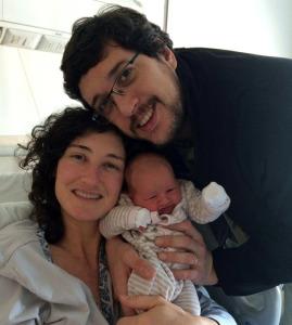 Esteban, Mariana y Manuela